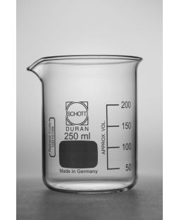 Beaker, Schott Duran, low form, borosilicate glass