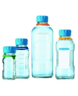 Youtility lab bottle, Schott, clear