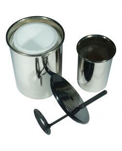 Calorimeter,  Cup, pair inner/outer, lid & stirrer