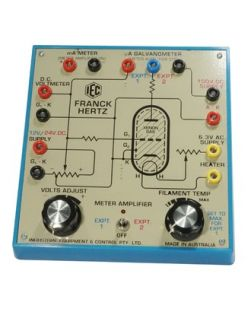 Frank Hertz Apparatus