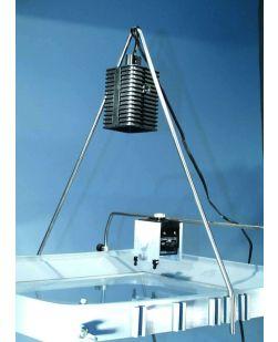 Ripple Tank, support bar for illuminator