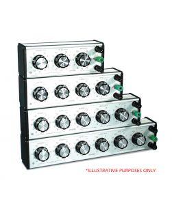Decade Resistance Box 3 dial x 10 ohm.
