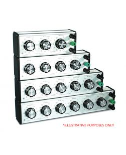 Decade Resistance Box 6 dial x 1 ohm.