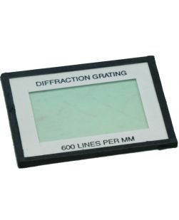 Diffraction Grating - Card mounted - 600 lines/mm