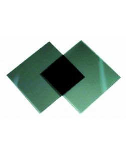 Polaroid filters,  50 x 50mm squares, pair.