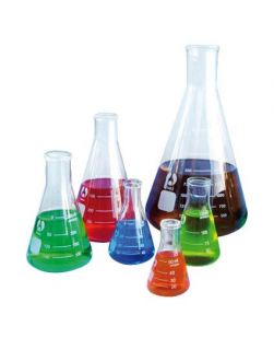 Flask Bomex, Erlenmeyer (Conical), borosilicate glass