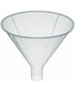 Funnel, powder, polypropylene, 150mm dia