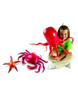 Giant inflatable Ocean Life Set