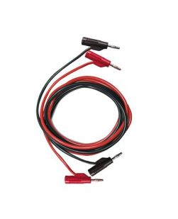 Banana/banana leads, double leads, black/red
