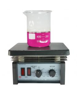 Magnetic stirrer/hot plate, IEC