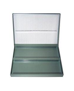 Microslide box, polystyrene, for slides