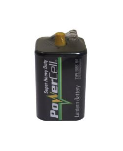 Battery, Heavy Duty long life, Lantern (6V)