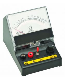 Ohm meter series type