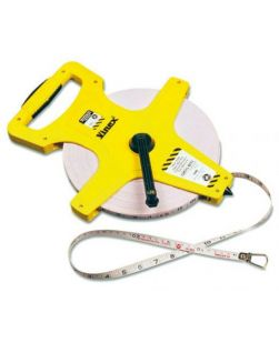 Tape measure, open reel, metric /imperial