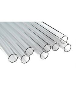 Tubing Borosilicate Glass, 5mm x 0.5m