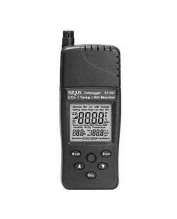 Carbon dioxide (CO2) monitor, handheld