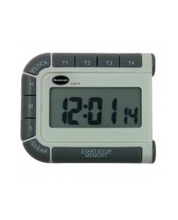Timer 4 Channel, Up/Down, Time, Jumbo Display.