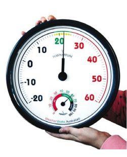 Jumbo Thermometer/Hygrometer