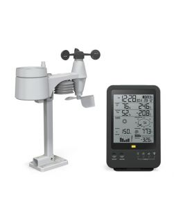 Weather station, digital, with display