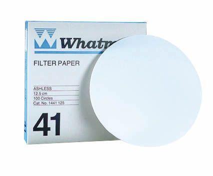 Filter Paper, Whatman® Grade 41, pk/100