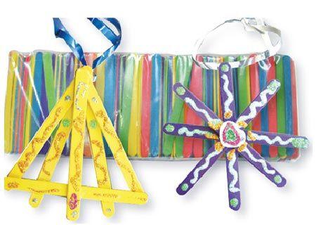 Popsticks, coloured, pk/500