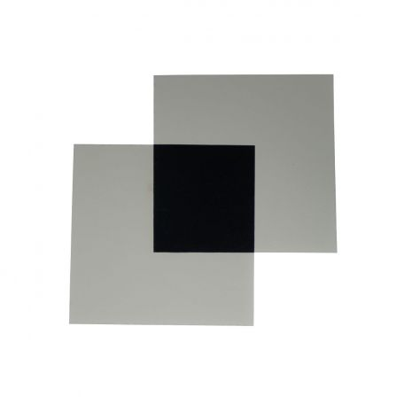Polaroid filters,  75 x 75mm square, pair.