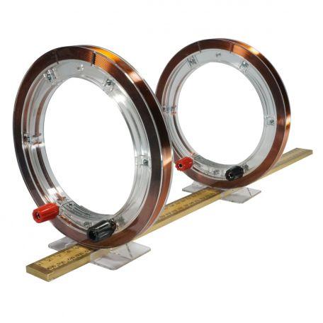 Helmholtz Coils, pair, 400 turns