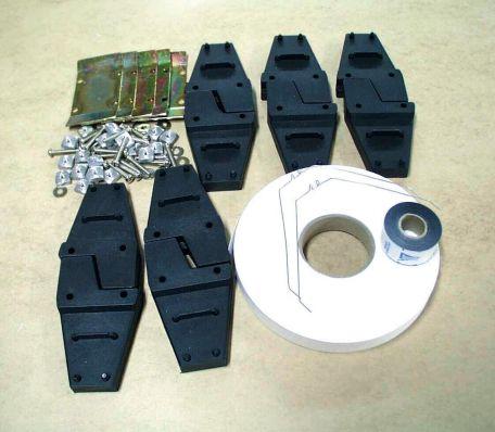 Air track, 2.0m spark track & recording kit
