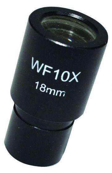 Microscope ocular eyepieces, x10, widefield