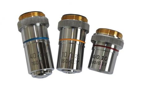 Microscope objective x4