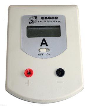 Digital bench meter, ammeter 0-2A DC