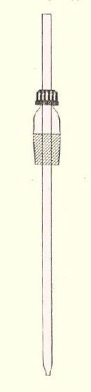 Air/steam inlet tube, plain 325mm (19/26)
