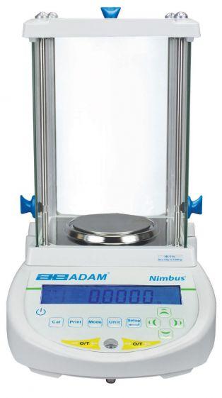 Adam NBL Nimbus Analytical Balance, 160g x 0.0001g (external calibration)