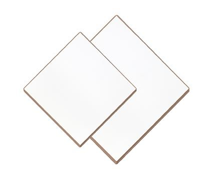 Bench mat, melamine coated, 400mm x 15mm