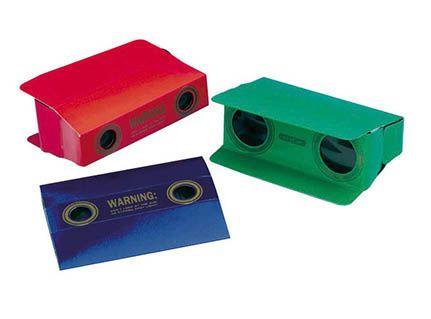 Binoculars, folding mini