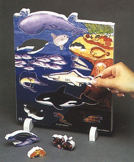 Book Plus Models - Ocean Habitat