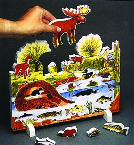 Book Plus Models - Pond Habitat
