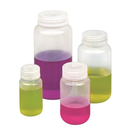 Reagent bottle, polypropylene, screw cap, 1000ml, W/M