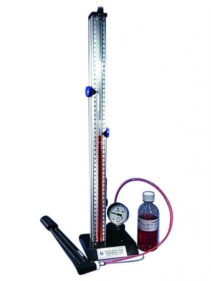 Boyles's Law Appt,  High pressure kit - c/with air pump