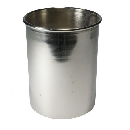 Calorimeter,  Cup, nickel plated, 100 x 75mm dia.