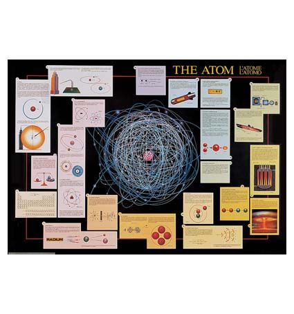 Chart, The Atom (Safari), 98 x 68cm
