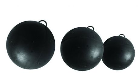 Circular motion kit spares, Rubber balls with loops set of 3