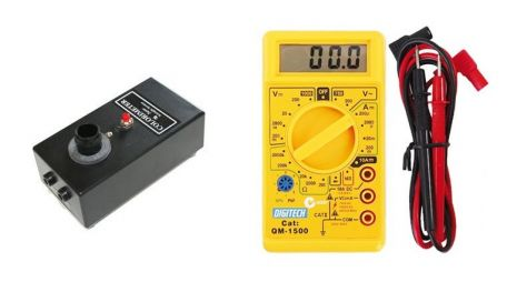 Colorimeter, with multimeter