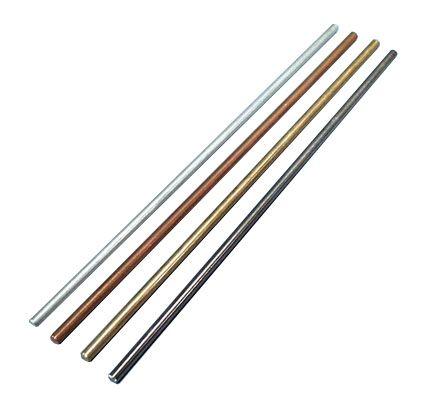 Conductivity rods, metal, set/4