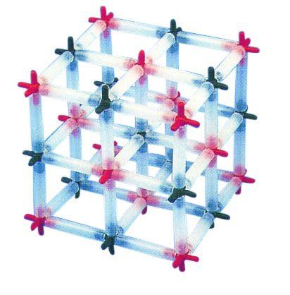 Model, sodium chloride (small) 27 atom centres