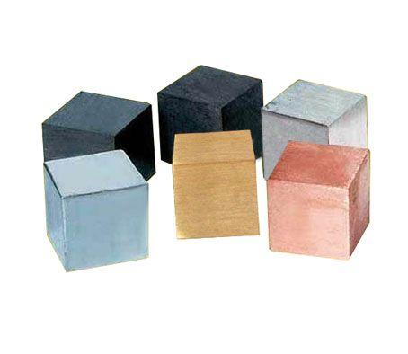 Cube set, 1cm edge, set/6