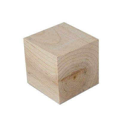 Cubes 2cm Wood
