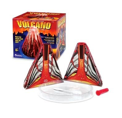 Volcano, Erupting Cross-section model