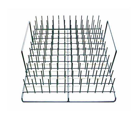 Dishwasher test tube rack, fits bench top model dishwashers