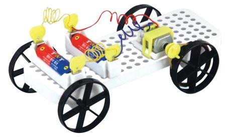 Electric Experiment Car, set of 6